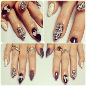 nail designs stiletto