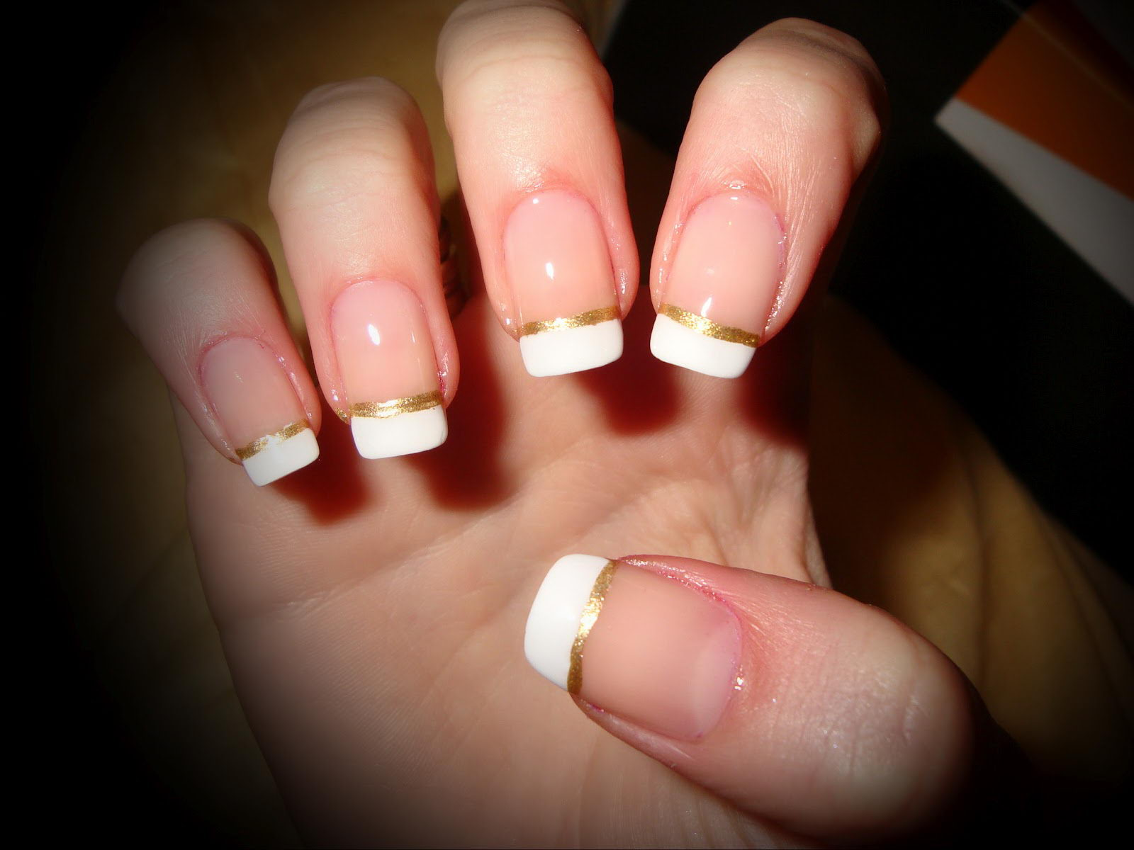 nail french tip designs