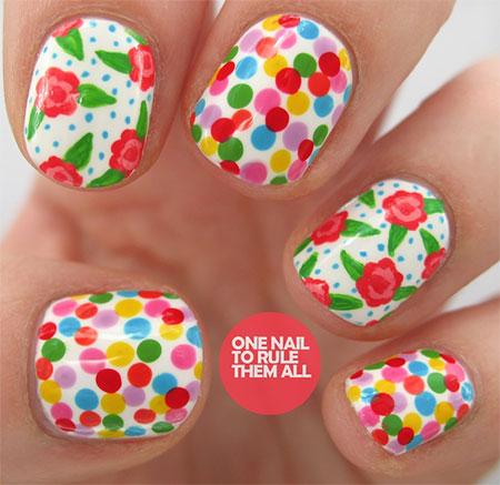 new spring nail designs