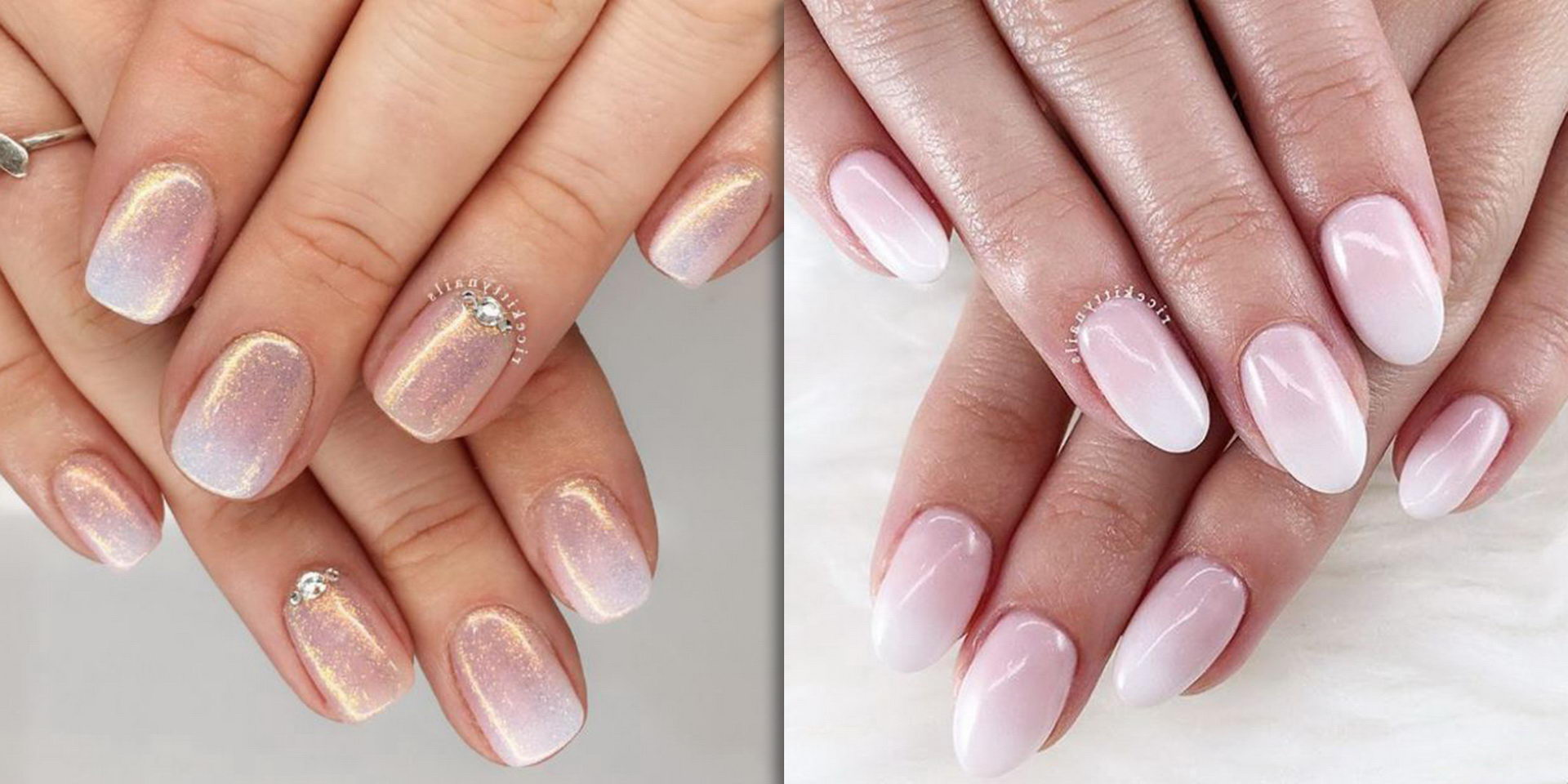 ombre french tip nail designs