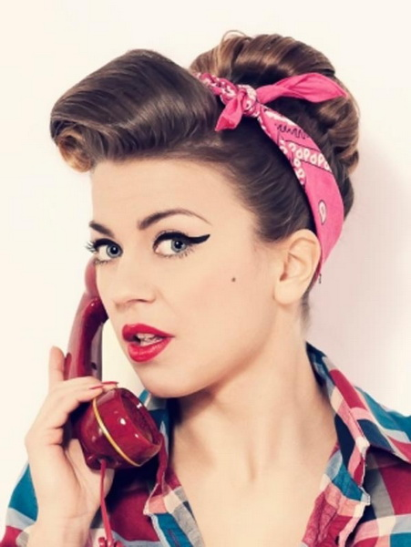 pin up girl hairstyles 15 Pin up hairstyles easy to make