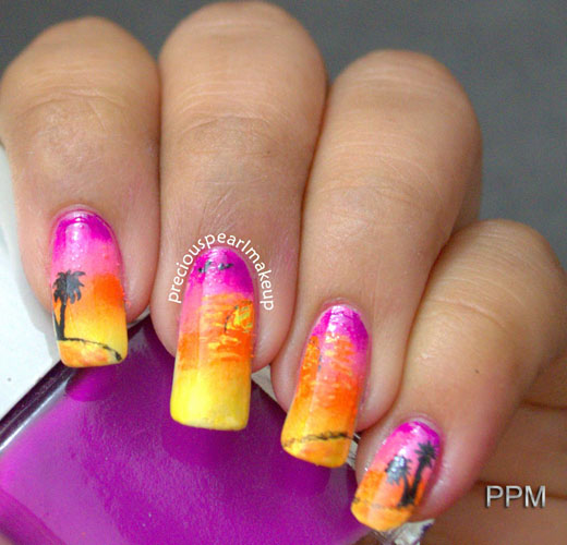 pretty summer nail designs