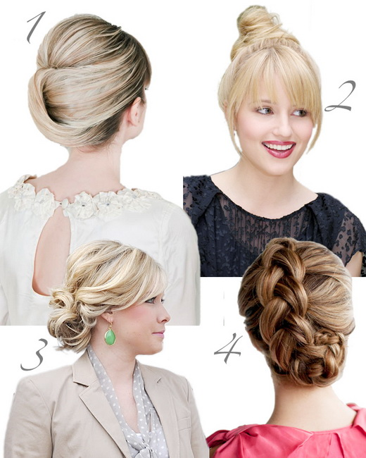 prom bun hairstyles Bun Hairstyles video tutorials and photos