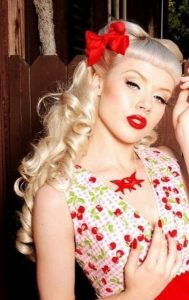 prom pin up hairstyles