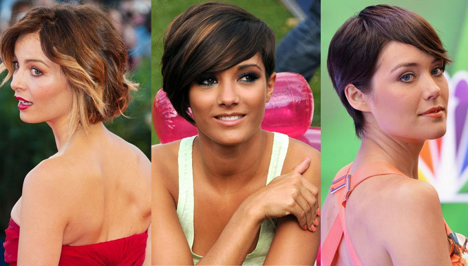 short hairstyles for women 2018