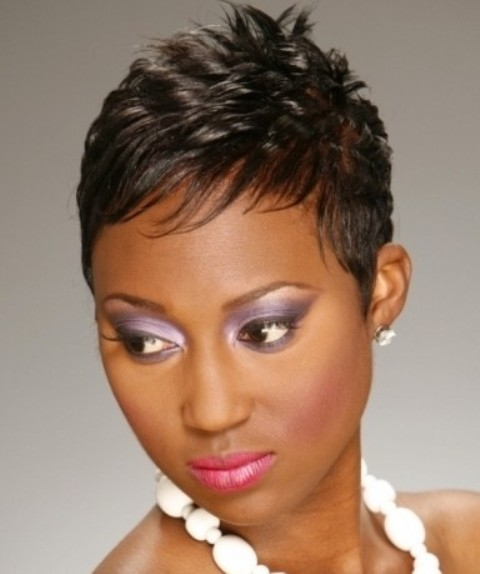 short natural hairstyles for black hair