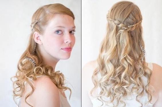 simple bridesmaid hairstyles Bridesmaids Hairstyles for short & medium & long hair