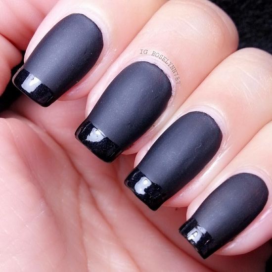 simple french tip nail designs