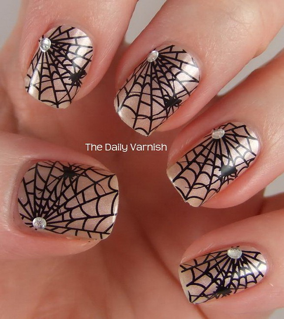 simple halloween nail designs Halloween Nail Designs pictures
