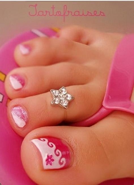 simple toe nail designs Toe Nail Designs 2015