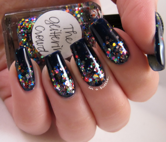 sparkle nail designs Glitter nail designs for shiny hands