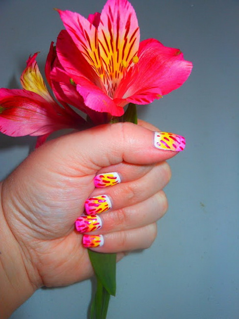 spring color nail designs