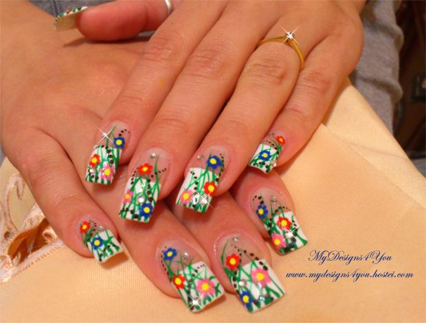 Top 30 Spring Nail Designs Yve Style