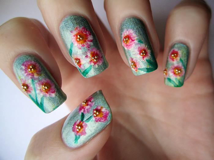 Top 30 spring nail designs yve style spring nail art designs 2015 top 30 spring nail designs prinsesfo Gallery