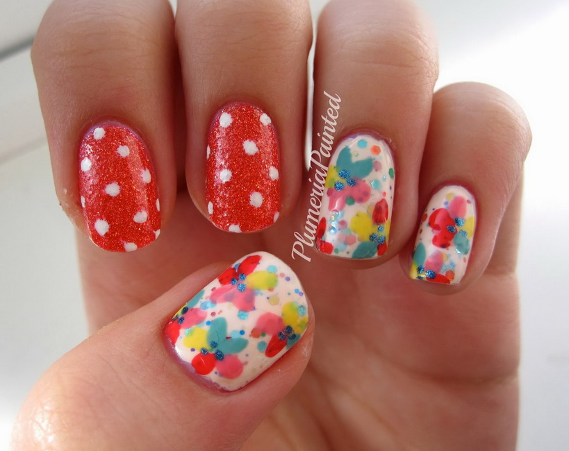 spring nail colors 2015 Top 30 Spring Nail Designs