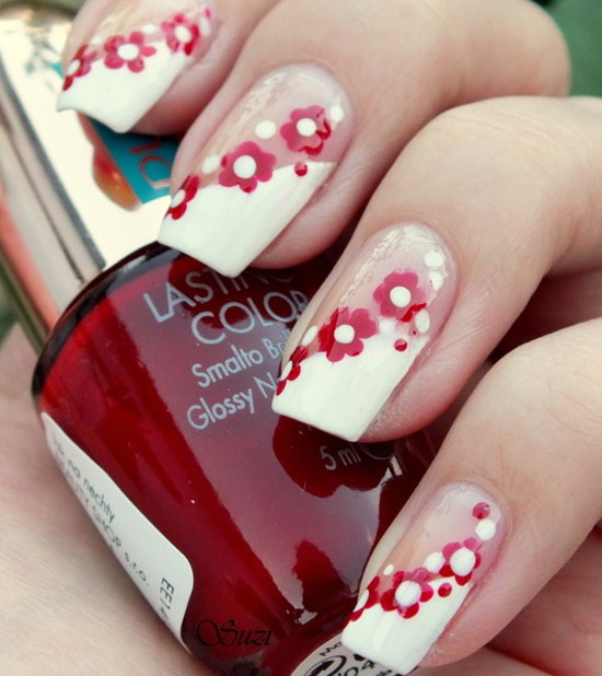 Top 30 spring nail designs yve style spring nails designs 2015 top 30 spring nail designs prinsesfo Gallery