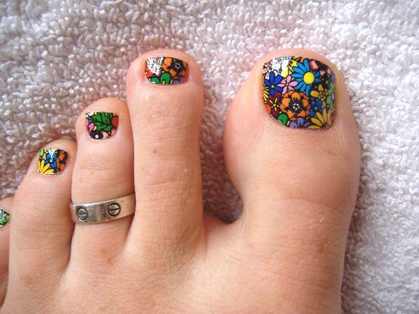 Summer Toe Nail Designs 2014 Papillon Day Spa