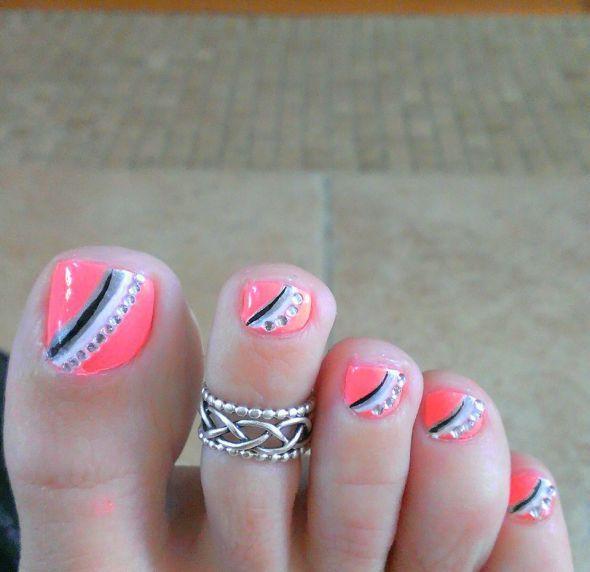 Toe Nail Designs 2015 Yve Style Com