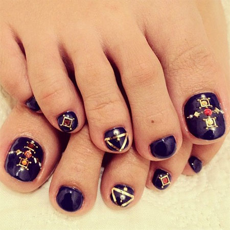 Toe Nail Designs 2015 Yve
