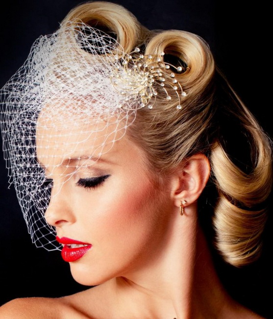 vintage bridal hairstyles Vintage Hairstyles for all type of parties
