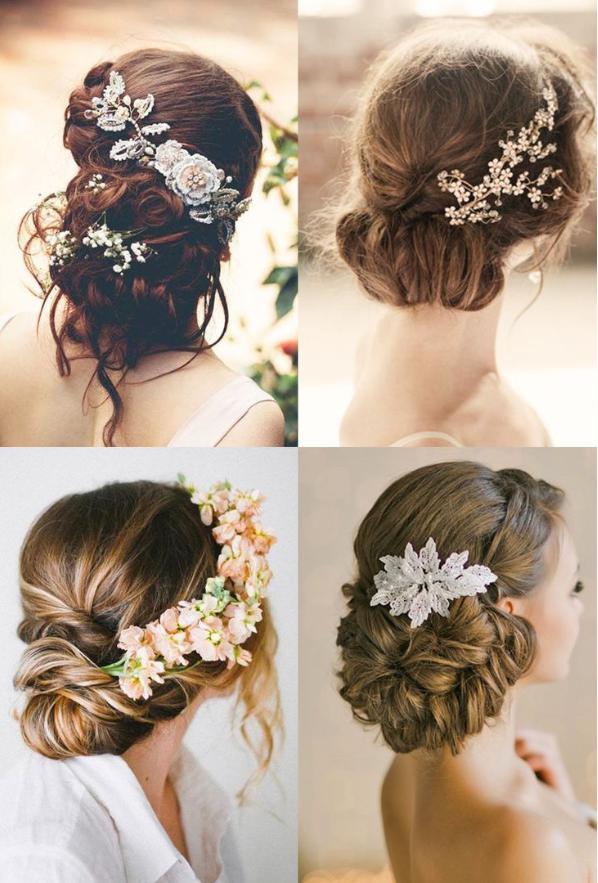 vintage bridesmaid hairstyle