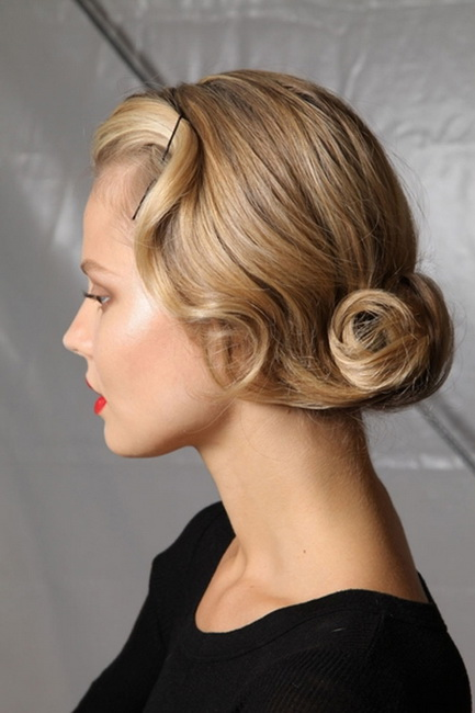 vintage hairstyles for short hair Vintage Hairstyles for all type of parties