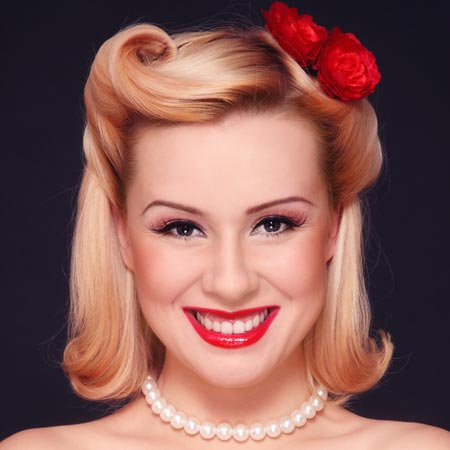 vintage prom hairstyles Vintage Hairstyles for all type of parties