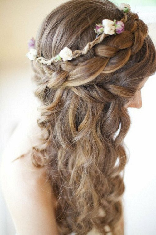 Fabulous Hair Ideas For A Wedding Bridesmaid Best Hairstyles 2017 Short Hairstyles Gunalazisus