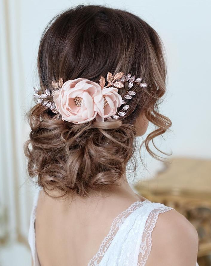 wedding bridesmaids hairstyles