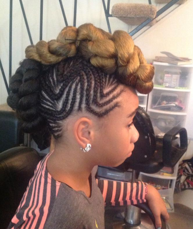 Twisted mohawk