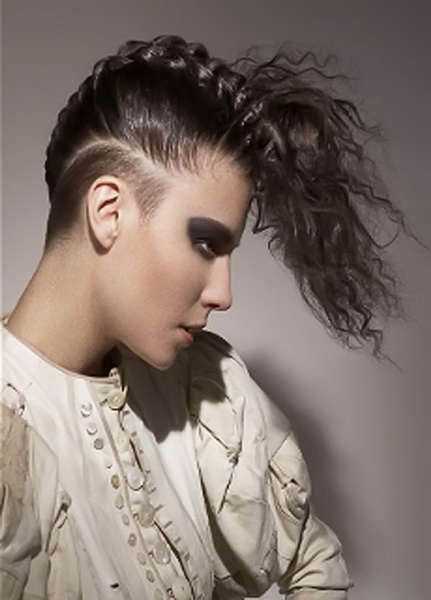 braided mohawk hairstyles Mohawk hairstyles for women