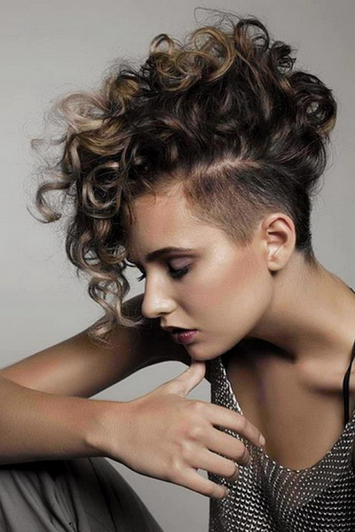 female mohawk hairstyles
