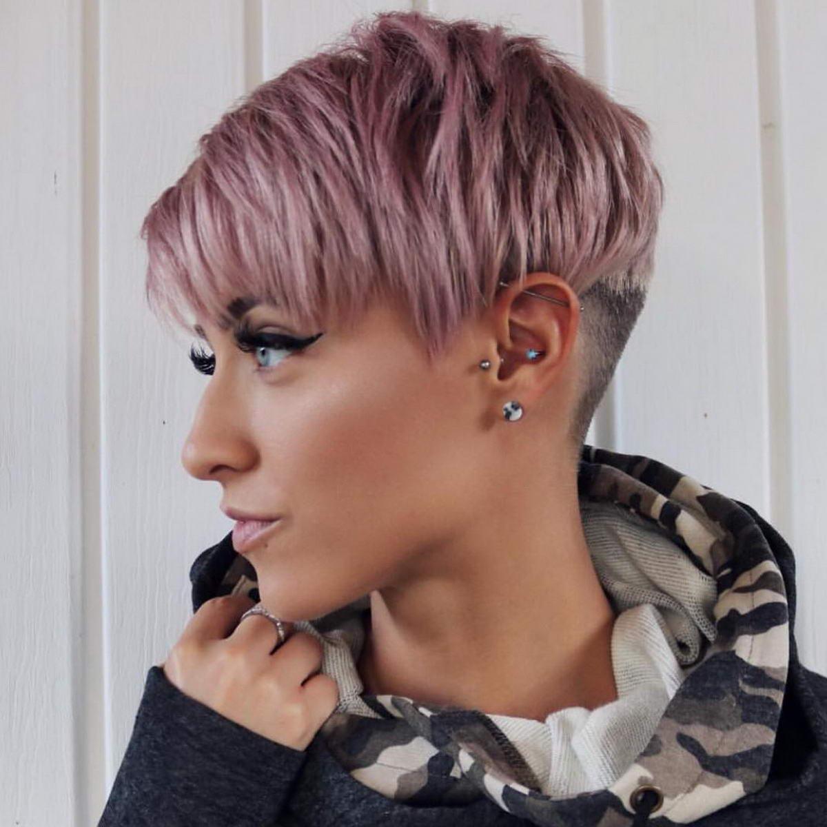girl pixie haircut