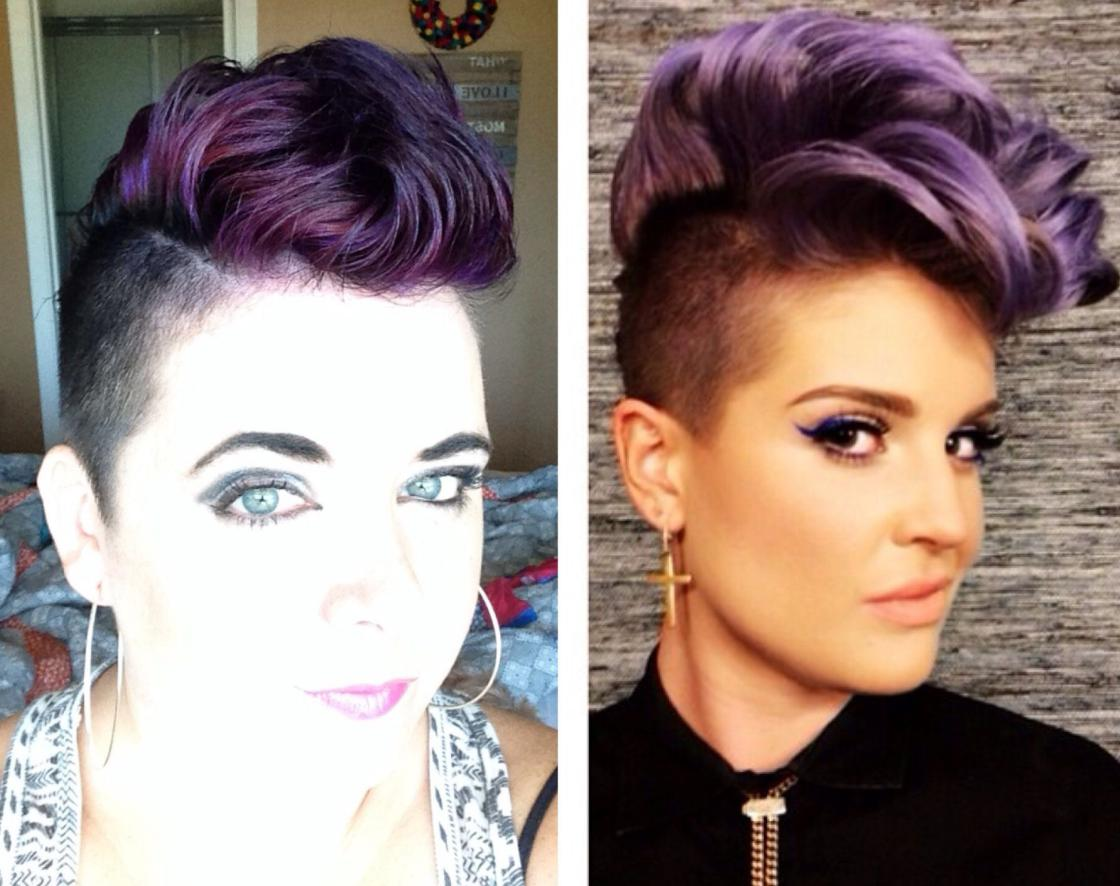 girls mohawk hairstyles