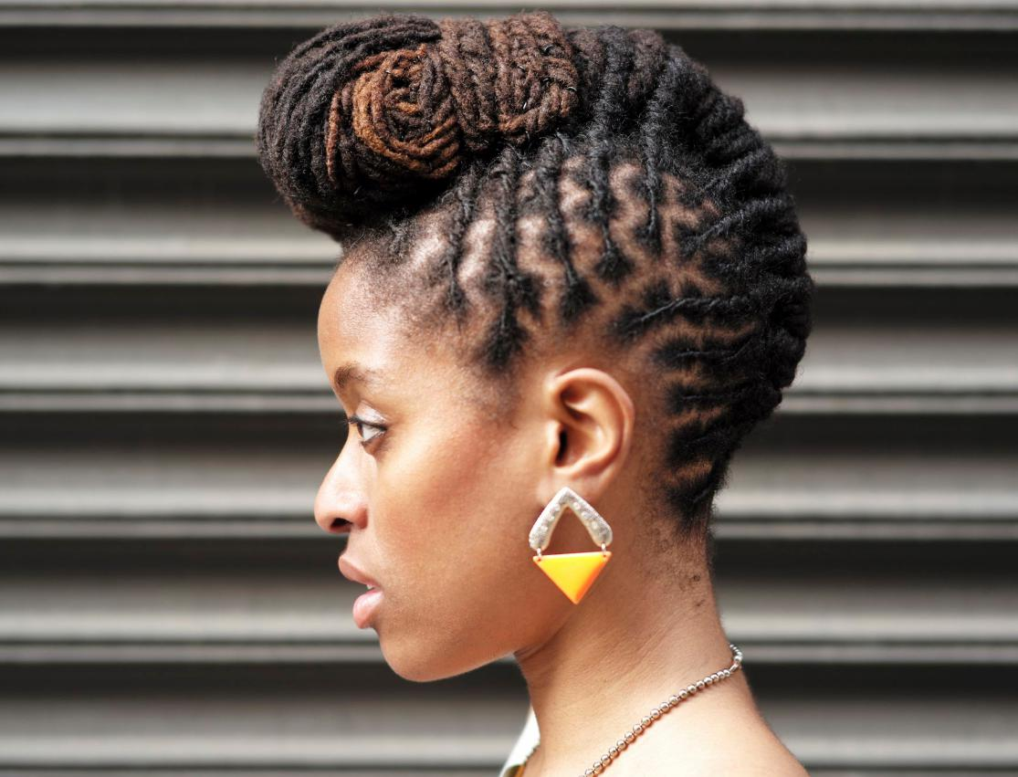 hairstyles mohawk for black women