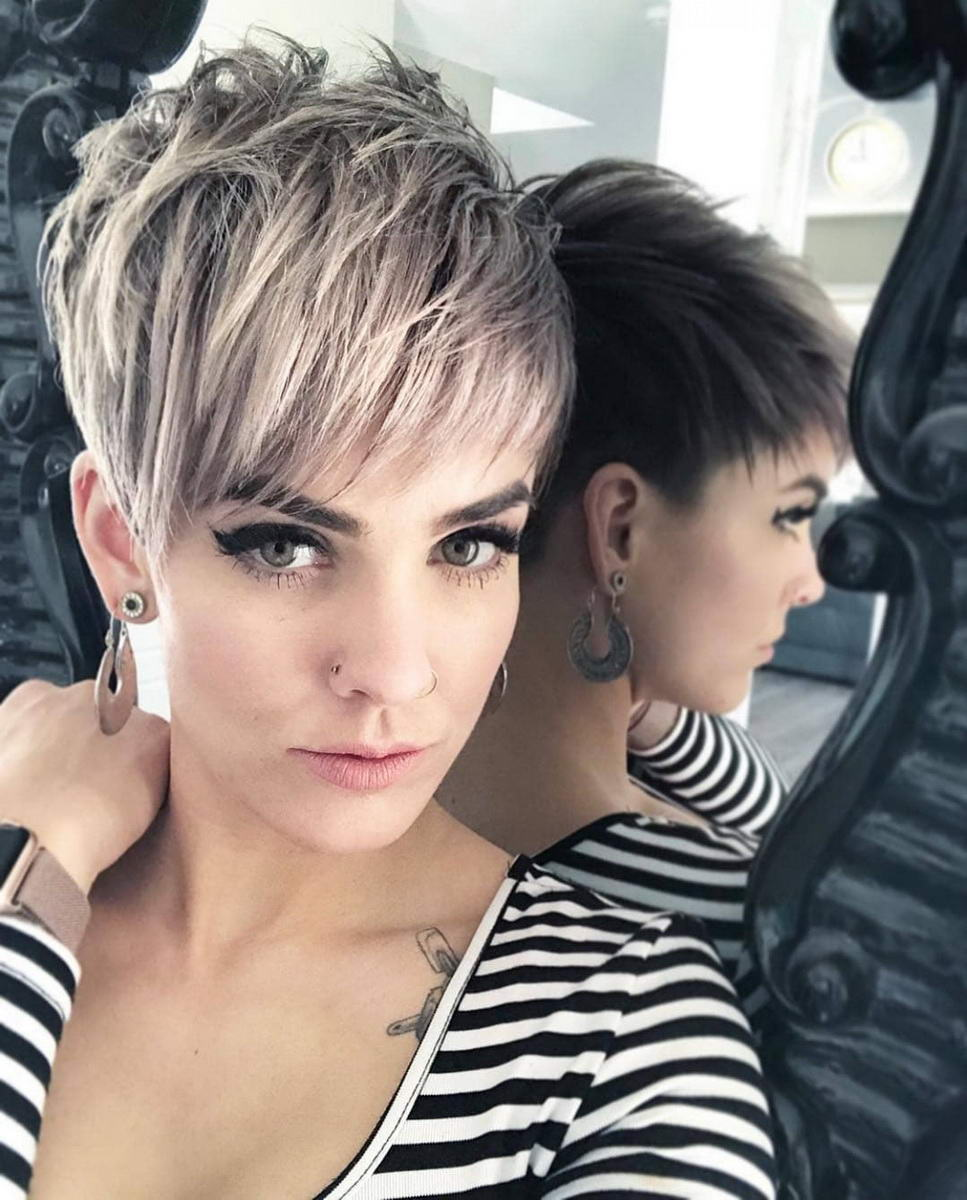 longer pixie cut hairstyles