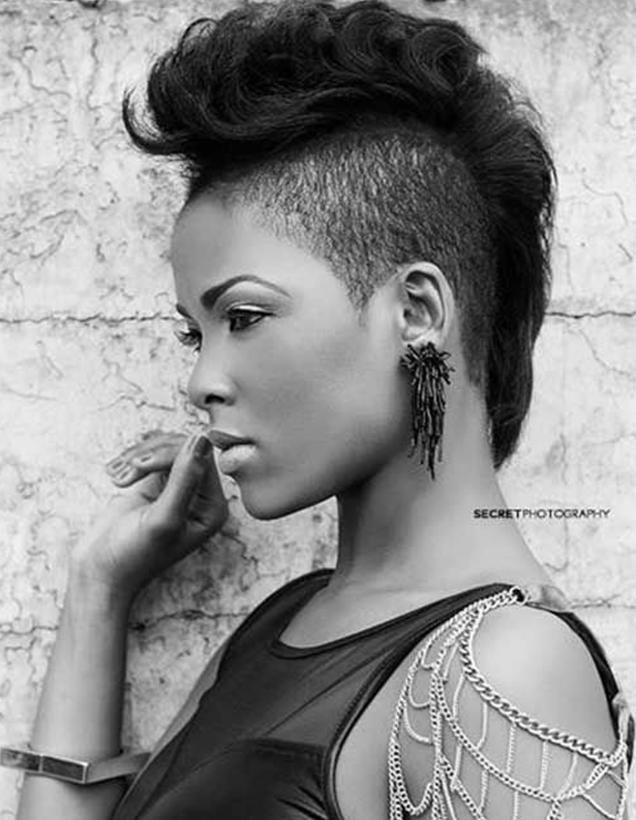 modern mohawk hairstyle