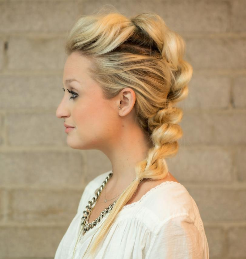 mohawk braid hairstyles