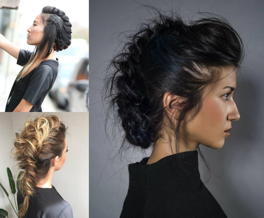 mohawk hairstyle braids