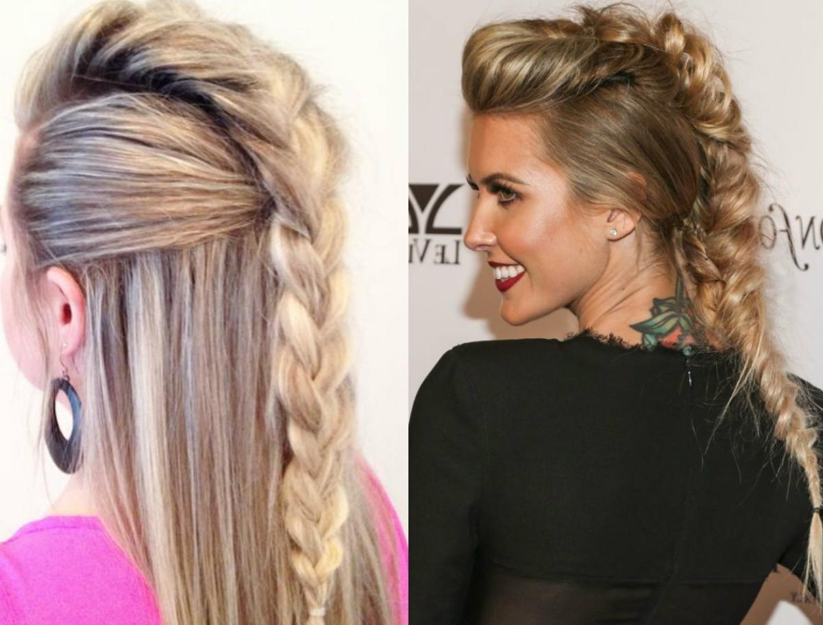 mohawk hairstyle for female