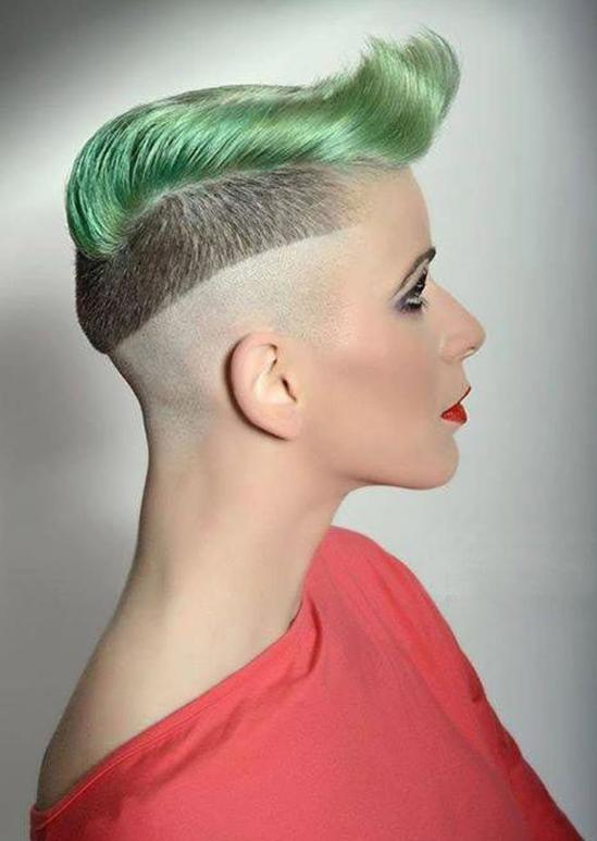 mohawk hairstyle for short hair
