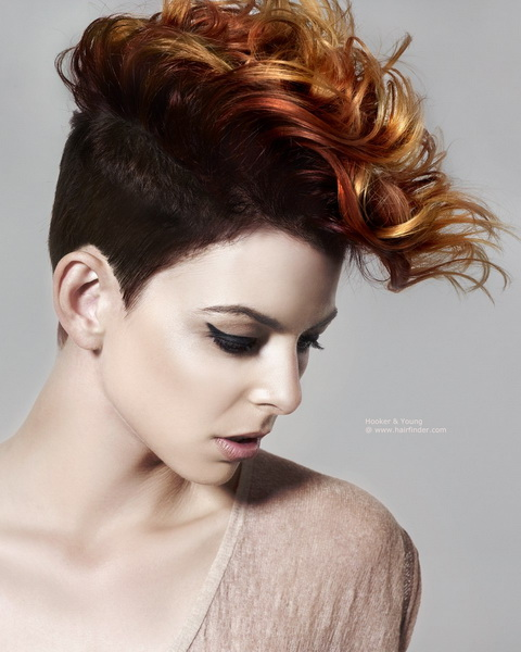 mohawk hairstyles braids Mohawk hairstyles for women