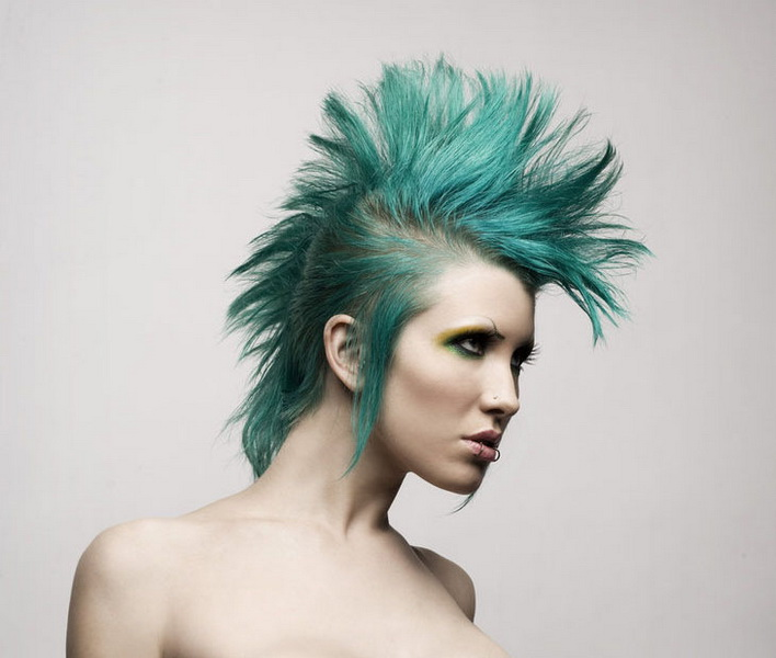 mohawk hairstyles for ladies Mohawk hairstyles for women
