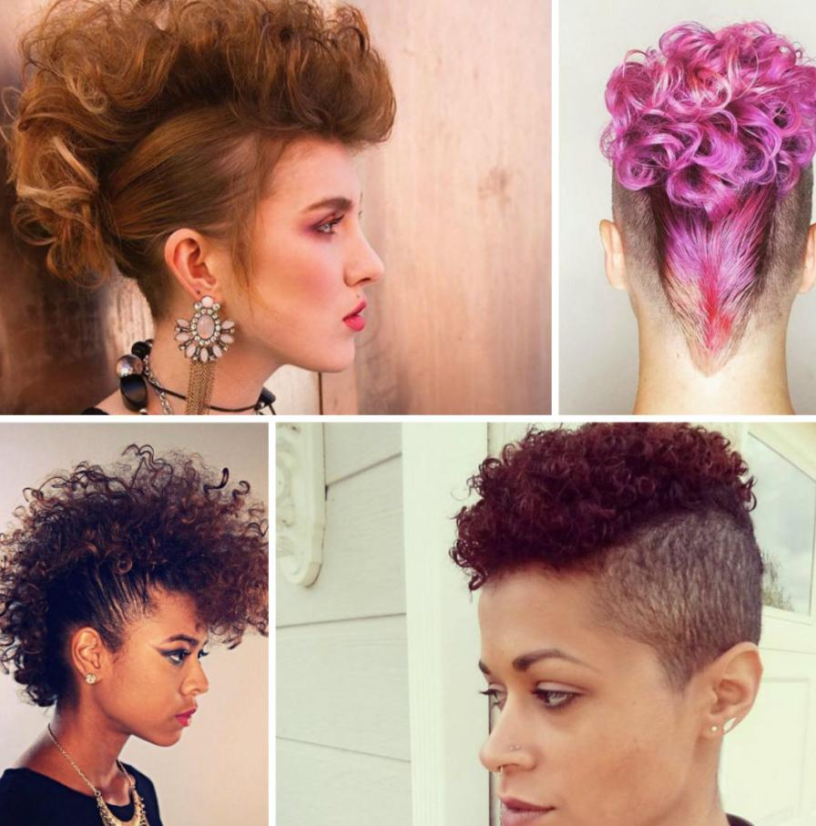 mohawk women hairstyle
