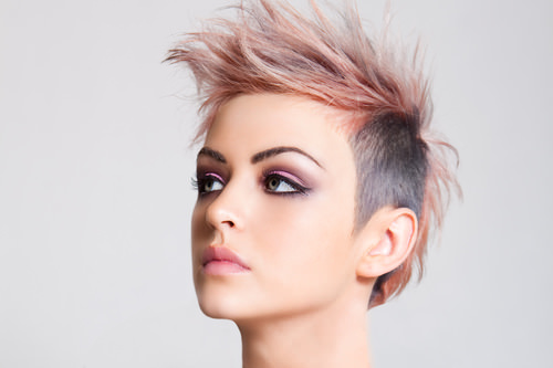 nice mohawk hairstyles Mohawk hairstyles for women