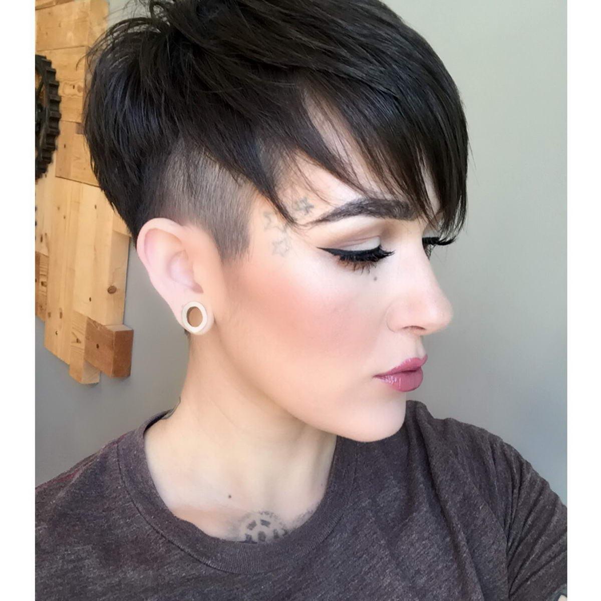 pixie fade haircut