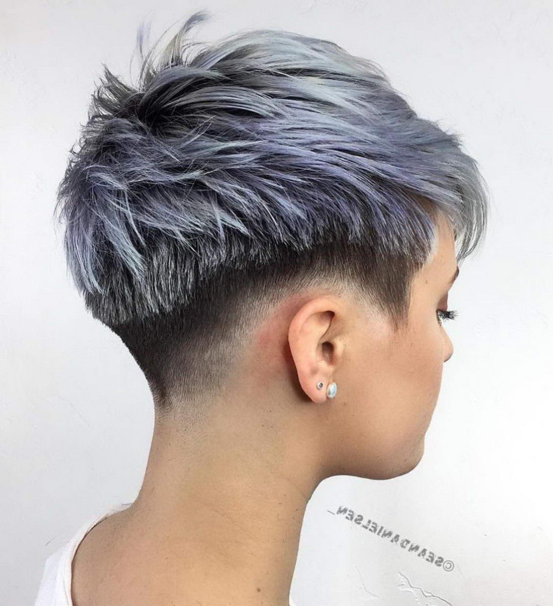 pixie haircut colors