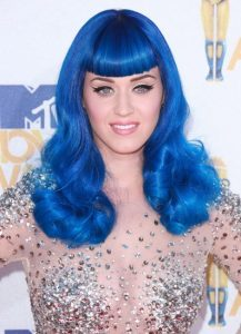Katy Perry crazy hairstyle