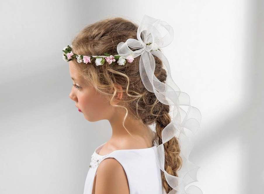 braided flower girl hairstyles