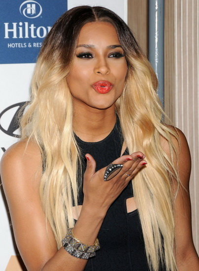 ciara hairstyles ombre